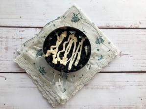 Салат с ветчиной и грецкими орехами - фото шаг 3