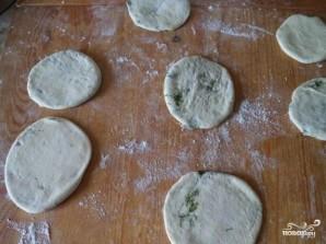 Лепешки вместо хлеба - фото шаг 5