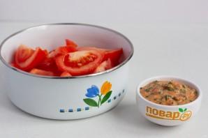Быстрая закуска из помидоров - фото шаг 3