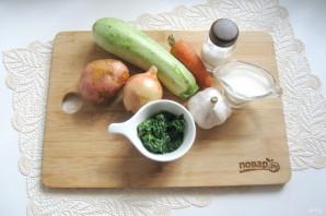 Суп-пюре из кабачков со сливками - фото шаг 1