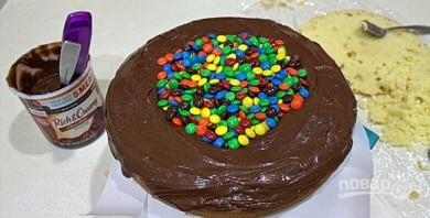 Детский торт на День рождения - фото шаг 4