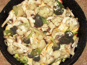 Овощи, запеченные в духовке с сыром - фото шаг 3