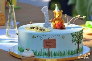 Торт на один годик девочке  - фото шаг 5
