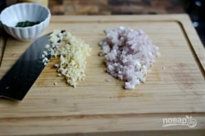 Ризотто с грибами и беконом - фото шаг 4