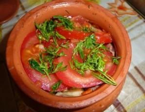 Говядина в горшочках с картошкой - фото шаг 5