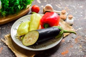 Маринованные баклажаны с болгарским перцем - фото шаг 1