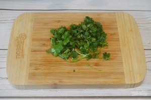 Хек на овощной подушке - фото шаг 6