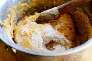Тыквенные булочки с корицей и орехами - фото шаг 4