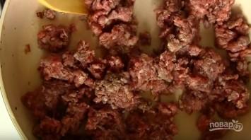 Кабачки, запеченные с фаршем в духовке - фото шаг 4