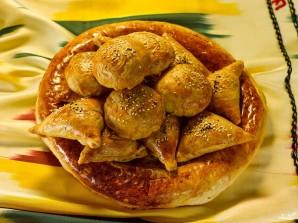 Самса с курицей и картошкой - фото шаг 4