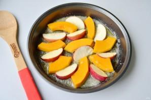Тарт татен с тыквой и яблоком - фото шаг 6