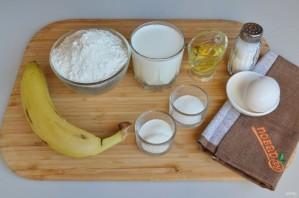 Полезные банановые панкейки - фото шаг 1