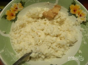 Рыбный салат в рисовой шубе - фото шаг 2
