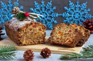 Темный рождественский кекс - фото шаг 12