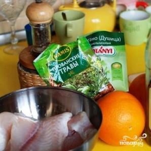 Филе пангасиуса в соусе - фото шаг 1
