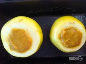 Тыквенное пюре в яблоке - фото шаг 3