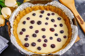 Пирог с голубикой и сметанной заливкой - фото шаг 7
