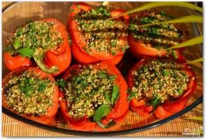 Фаршированные перцы и помидоры - фото шаг 17
