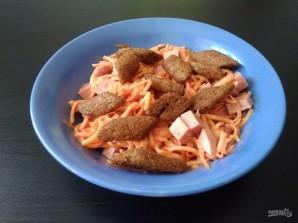 """Салат """"Сытный"""" с корейской морковью - фото шаг 5"""