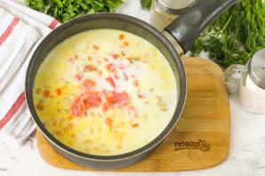 Суп из семги с молоком - фото шаг 6