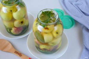 Яблоки, моченые на зиму - фото шаг 9