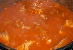 Суп с фасолью и мясом - фото шаг 11