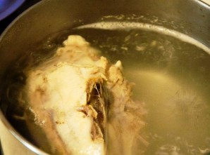 Суп с мясом и лапшой - фото шаг 1