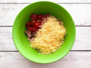 Картофельный киш с ветчиной и сыром - фото шаг 4