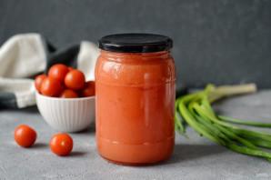 Домашний томатный сок на зиму - фото шаг 7