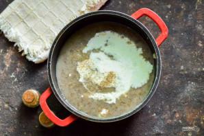 Грибной суп как в Икеа - фото шаг 7