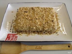 Торт из печенья без выпечки со сметаной - фото шаг 6