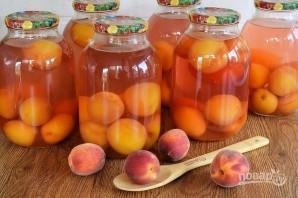 Персиковый компот на зиму - фото шаг 4