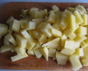 Грибная солянка с капустой - фото шаг 1