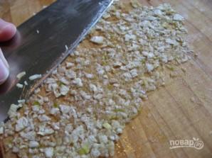Салат с фасолью и ветчиной - фото шаг 4