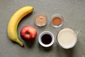 Смузи с яблоком и корицей - фото шаг 1