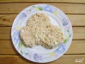 "Салат ""Обезьянка"" с корейской морковкой - фото шаг 9"