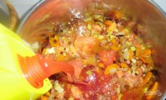 Суп с белой фасолью консервированной - фото шаг 4