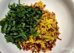Салат с морковью и кедровыми орешками - фото шаг 7