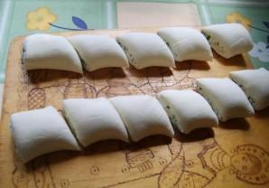 Пирожки с творогом за 5 минут - фото шаг 4