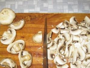 Мясо с грибами и сыром - фото шаг 5