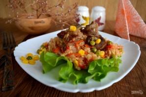 Курица с рисом и овощами по-каталонски - фото шаг 8