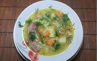 Гороховый суп с рулькой - фото шаг 4