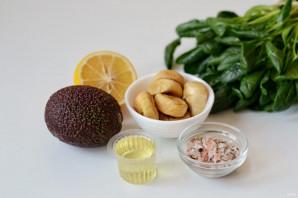 Салат с инжиром и авокадо - фото шаг 1