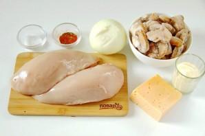 Куриные отбивные с грибами - фото шаг 1