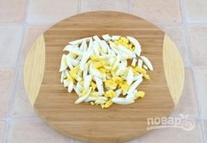 Куриный салат с ветчиной и опятами - фото шаг 4