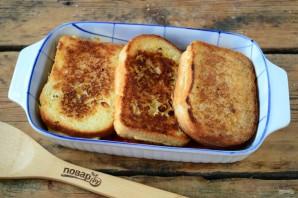 Бутерброды под сырно-томатной подушкой - фото шаг 7