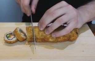 Запеченные суши - фото шаг 6