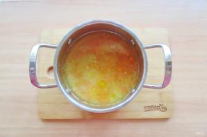 Греческий суп с чечевицей