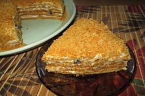 Вегетарианский торт без яиц - фото шаг 11