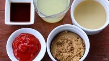 Кисло-сладкий китайский соус - фото шаг 1